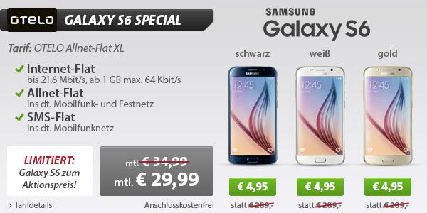Photo of Samsung Galaxy S6 Special – Jetzt über 280 Euro sparen!