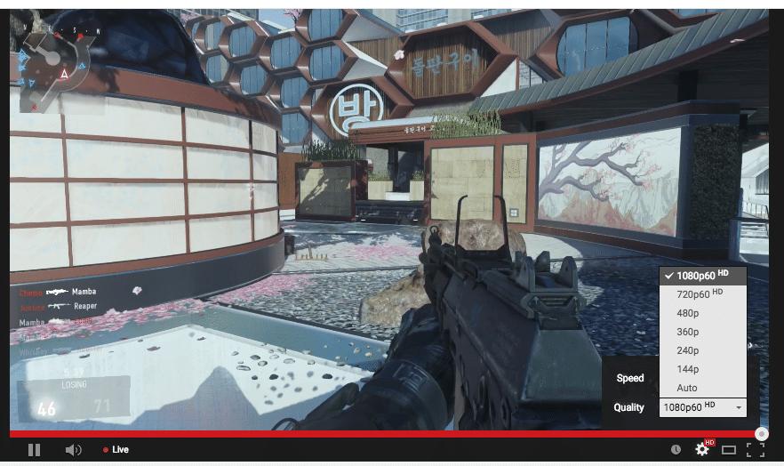 Bild von YouTube Live-Streaming mit 60 FPS ab sofort