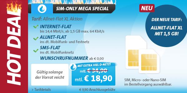 Photo of Sparhandy SIM-Only Specials zu Pfingsten!