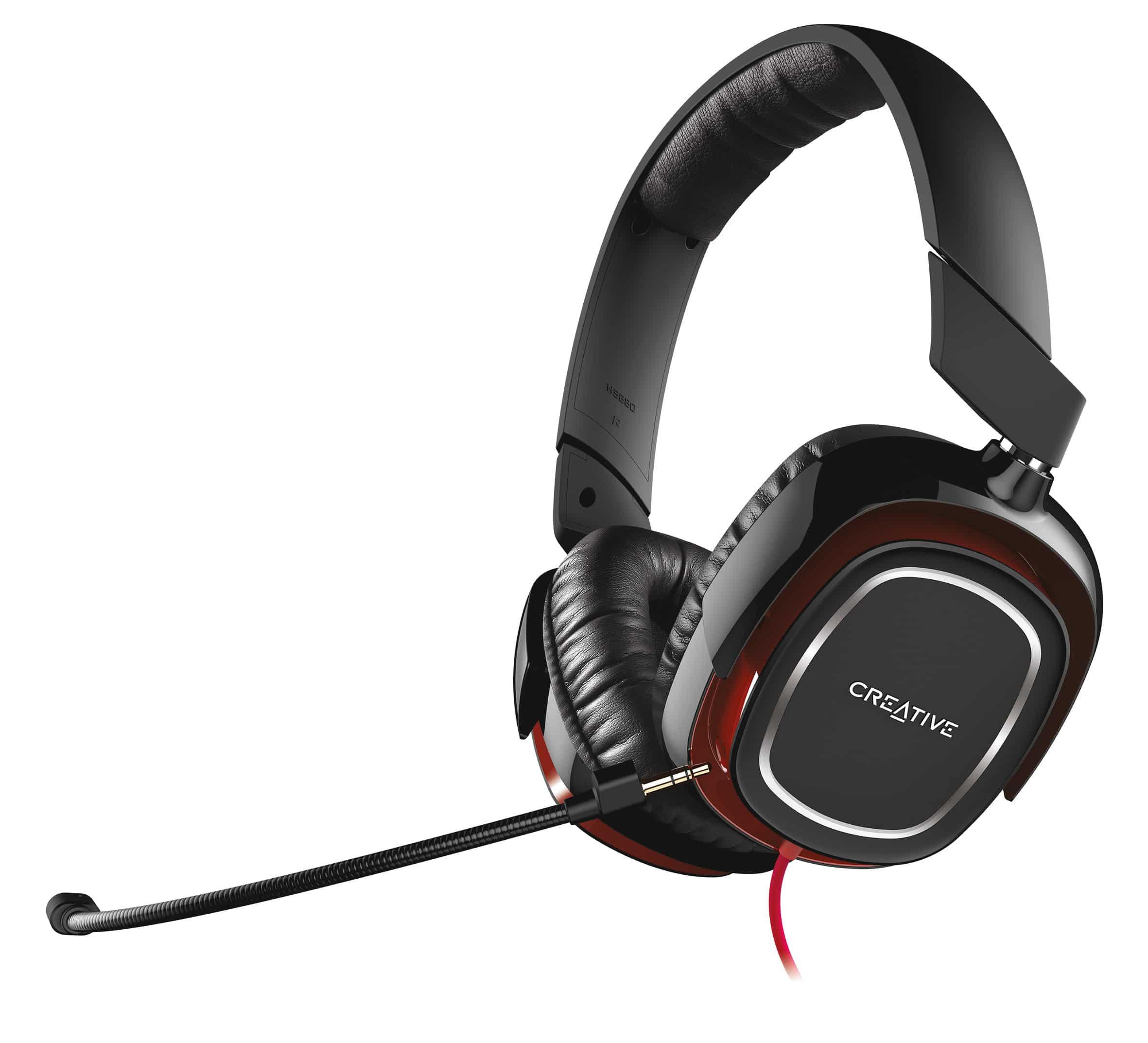 Bild von Creative veröffentlicht das Draco HS880 Gaming Headset