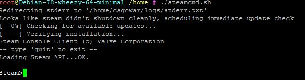Steamcmd