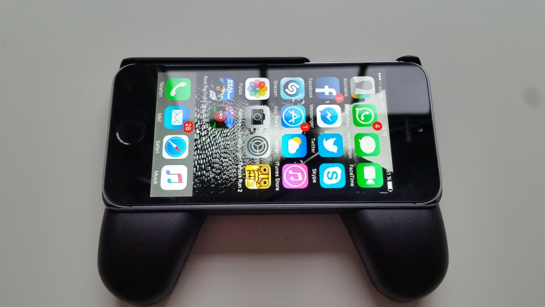 """Bild von Test: BIG D Accessories ,,Single Play"""" Smartphone Halterung"""
