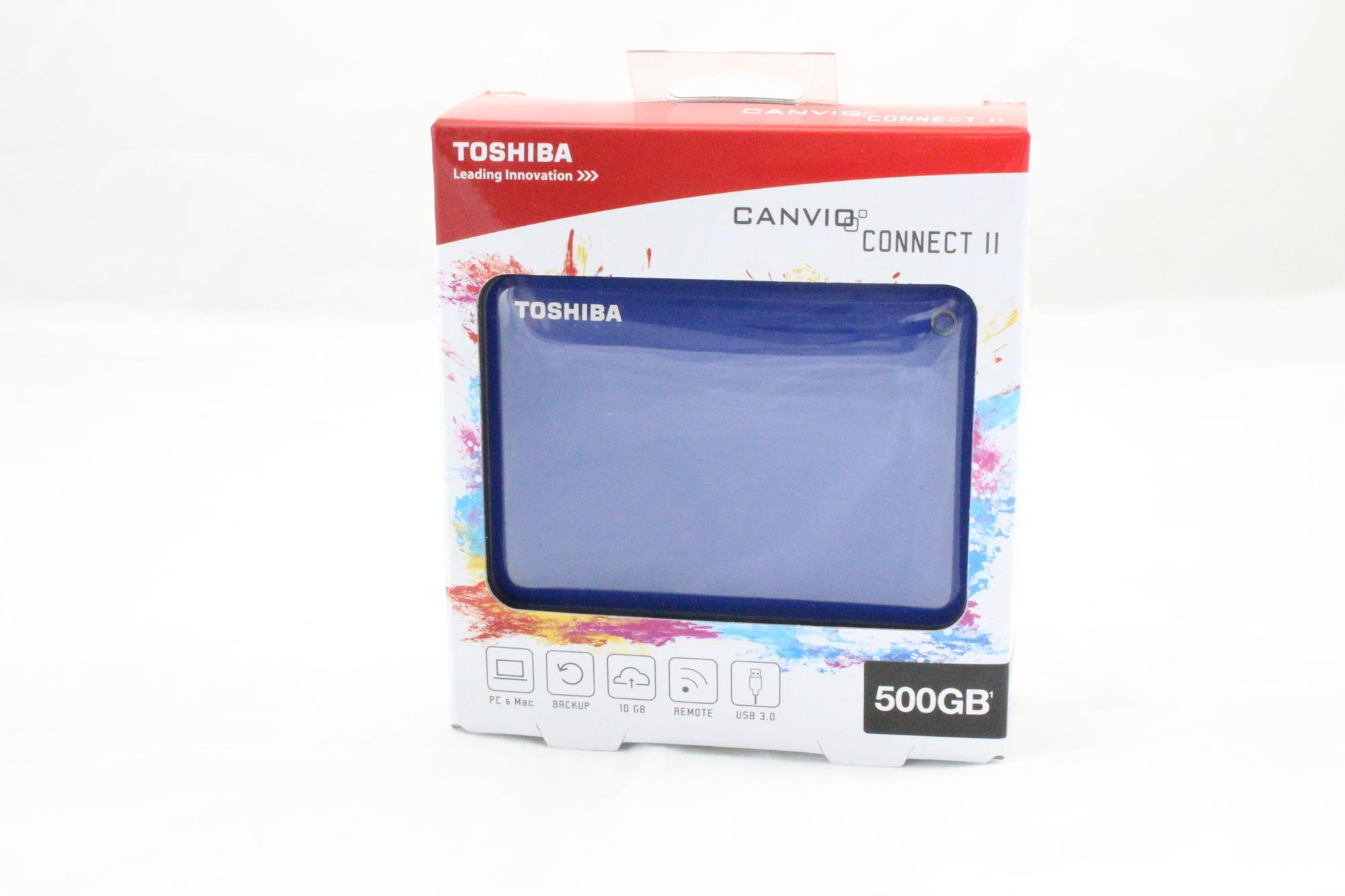 Bild von Canvio Connect II 500GB 2,5″ Festplatte von Toshiba im Test
