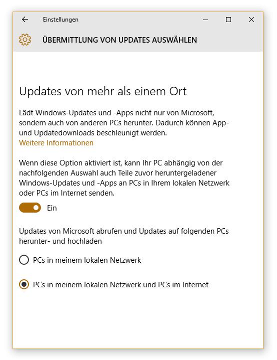 Photo of Windows 10 nutzt eure Bandbreite zur Updateverteilung – so wird es deaktiviert