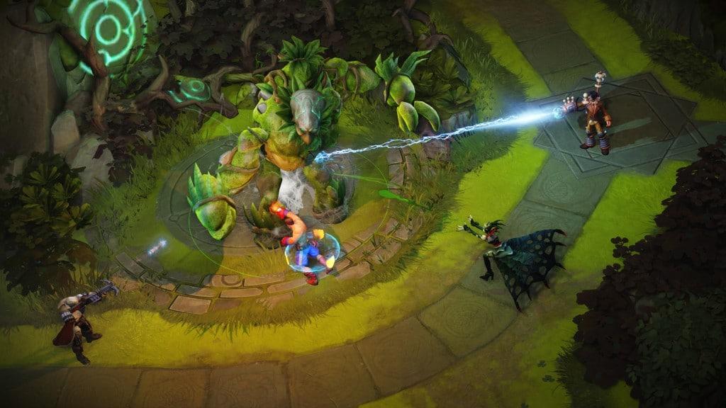 Arena of Fate Ingame Screenshot Titan (Pressekit)