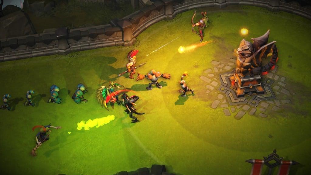 Arena of Fate Ingame Screenshot Turm (Pressekit)