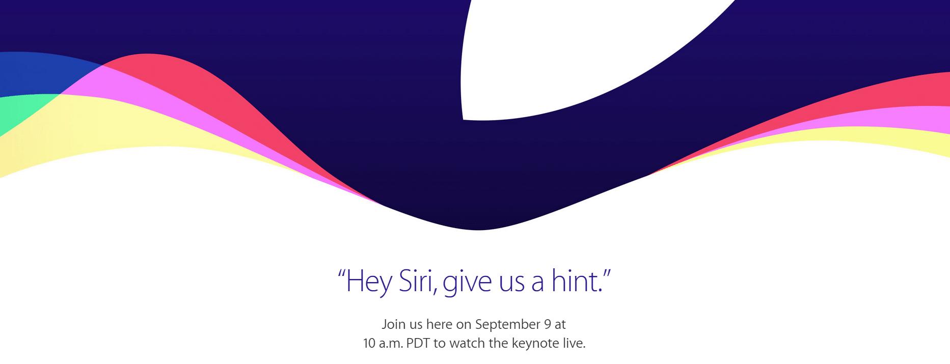 Photo of Apple Event am 9. September