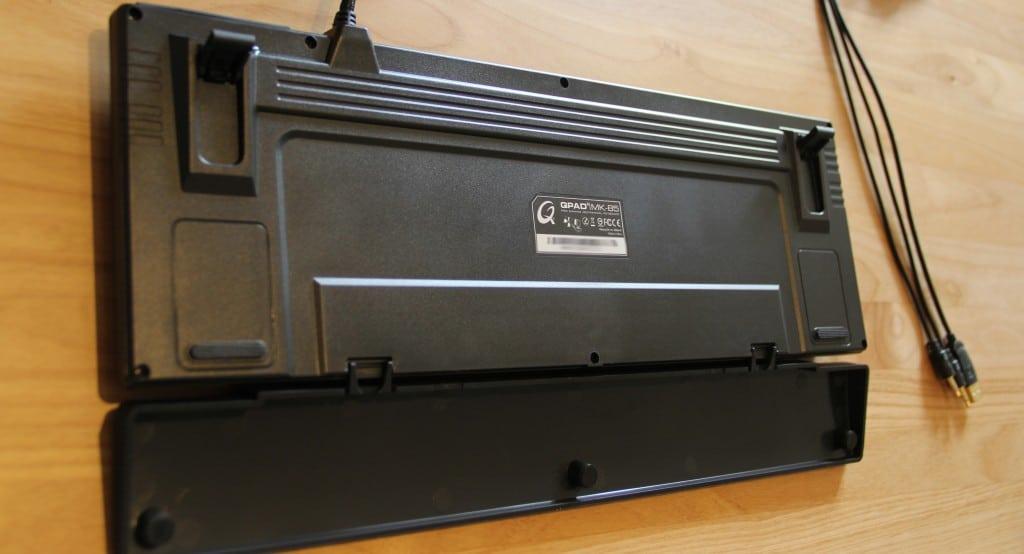 Das QPAD MK-85 Gaming-Keyboard in der kritischen Inspektion