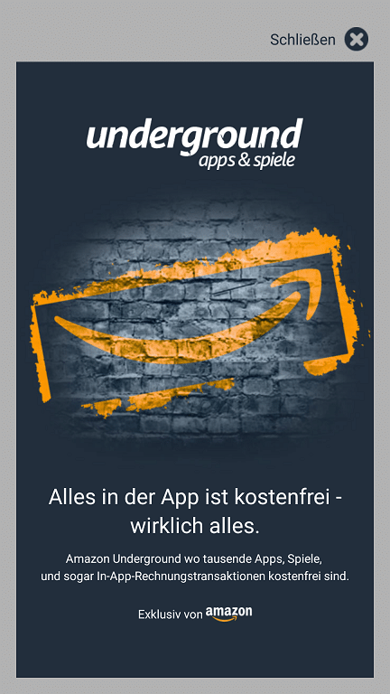 Photo of Apps für lau mit Amazon Underground