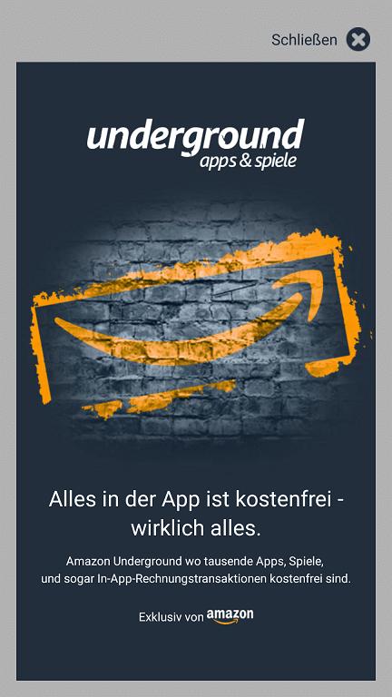 Photo of Apps für lau mit Amazon Underground