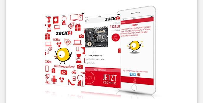 Bild von ZackOne – die ZackZack-App
