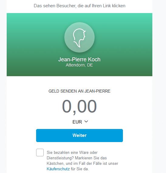 Bild von Neues von PayPal: Zahlungen unter Freunden mit PayPal.me