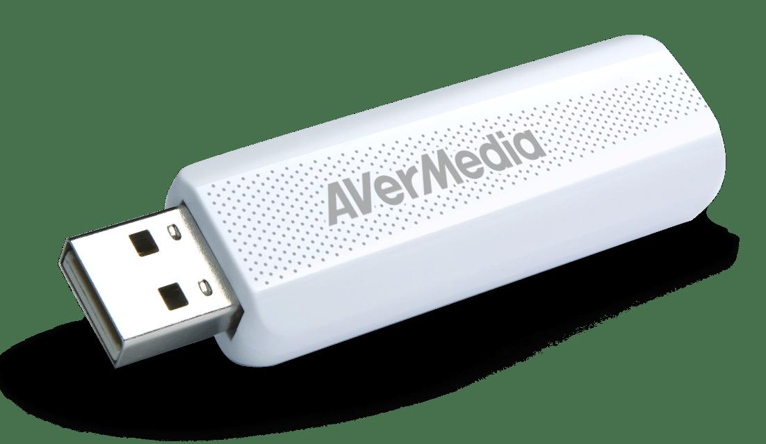 Bild von AVerMedia mit DVB-T2- und Gaming-Devices