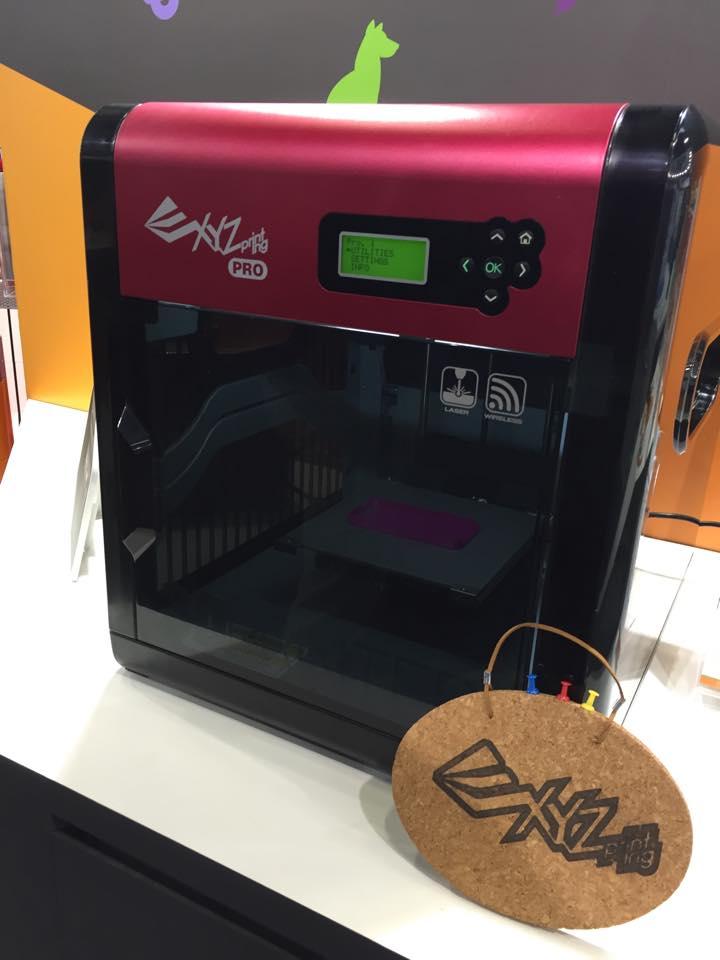 Photo of XYZprinting mit 3D-Druckern, 3D-Scanner und Robotern auf der IFA
