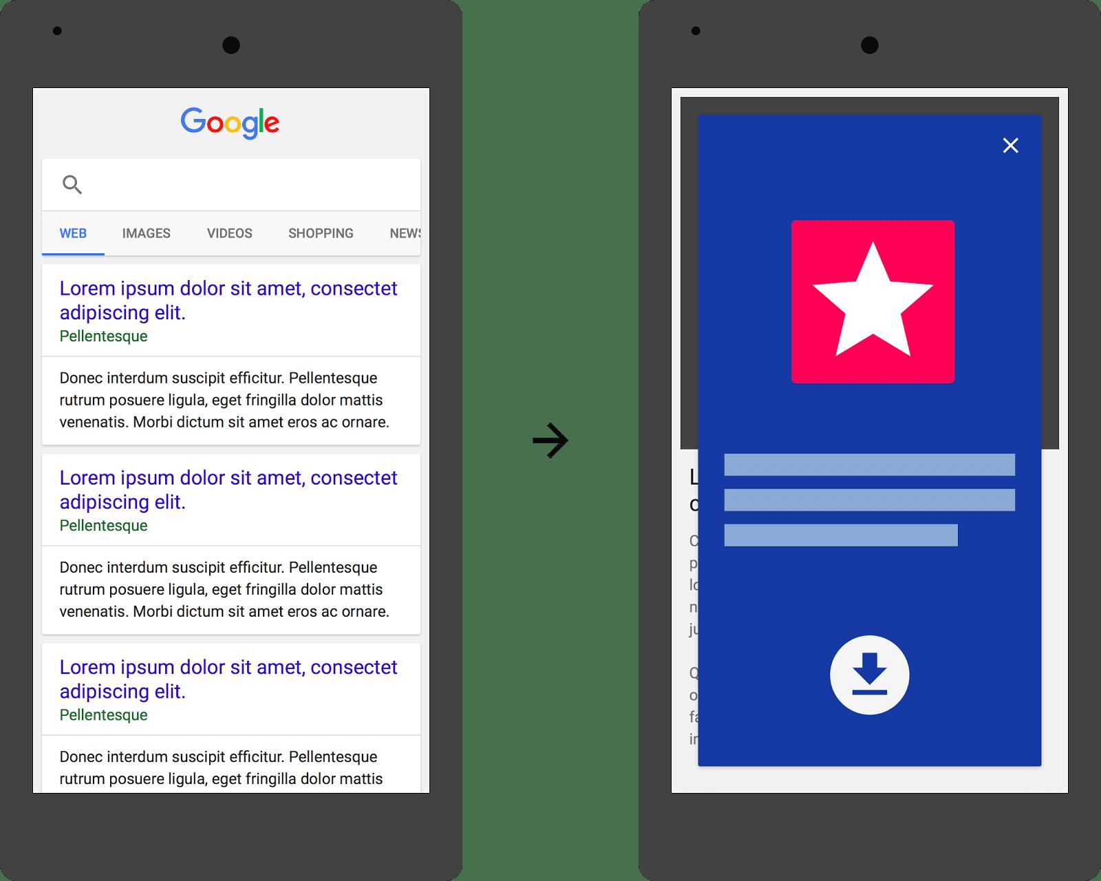 Photo of Google gegen Werbung für eigene App