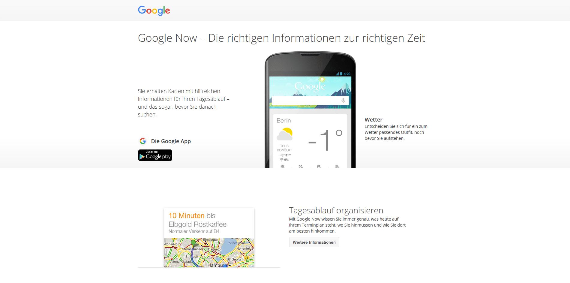 Photo of Google Now Verlauf kann jetzt gelöscht werden