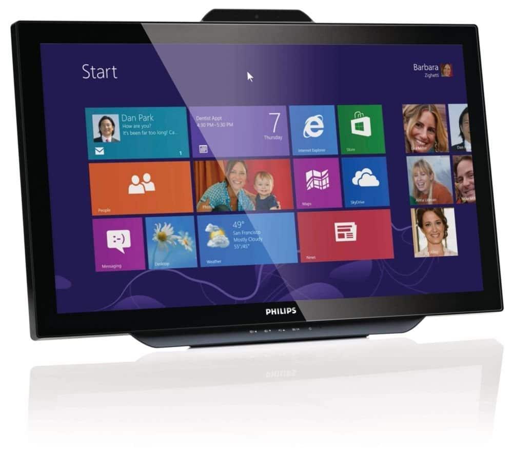 Bild von Philips 231C5TJKFU: Touchscreen-Monitor im Test