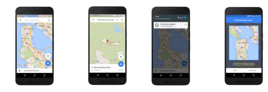 Photo of Google Maps jetzt offline nutzbar