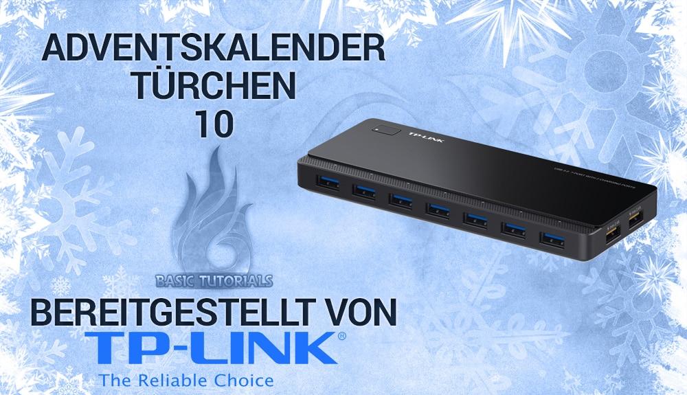 Photo of Adventskalender Türchen 10: 2x 7-Port-USB-3.0-Hub UH720 von TP-LINK