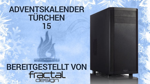 adventskalender t rchen 15 fractal design core 3300. Black Bedroom Furniture Sets. Home Design Ideas
