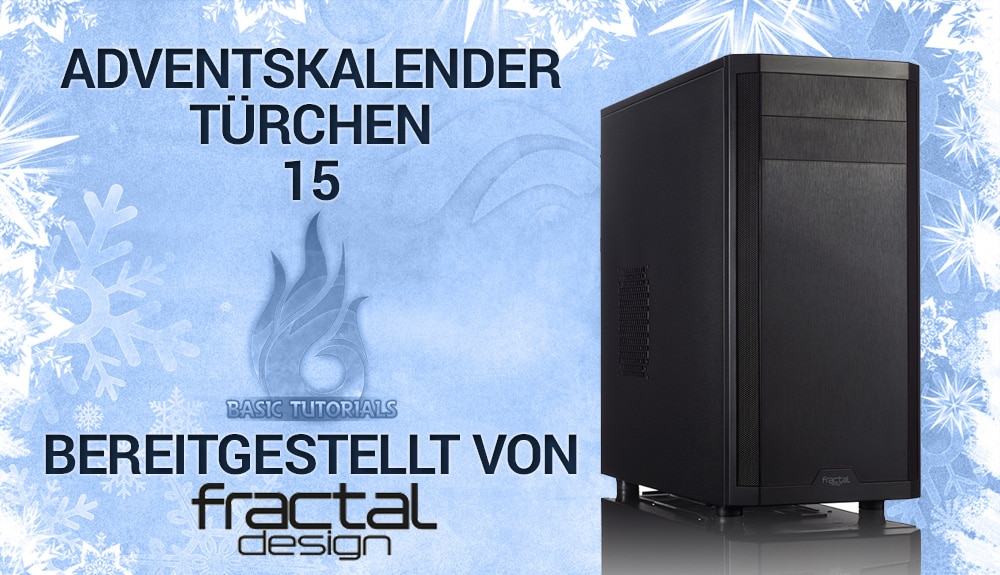 Photo of Adventskalender Türchen 15: Fractal Design Core 3300 PC-Gehäuse