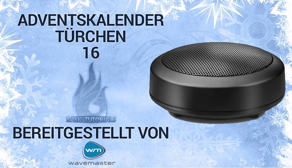 Photo of Adventskalender Türchen 16: 5x Wavemaster Mobi-2 Bluetooth-Lautsprecher