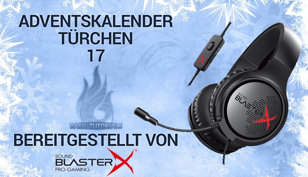 Photo of Adventskalender Türchen 17: Creative Sound BlasterX H3 Headset