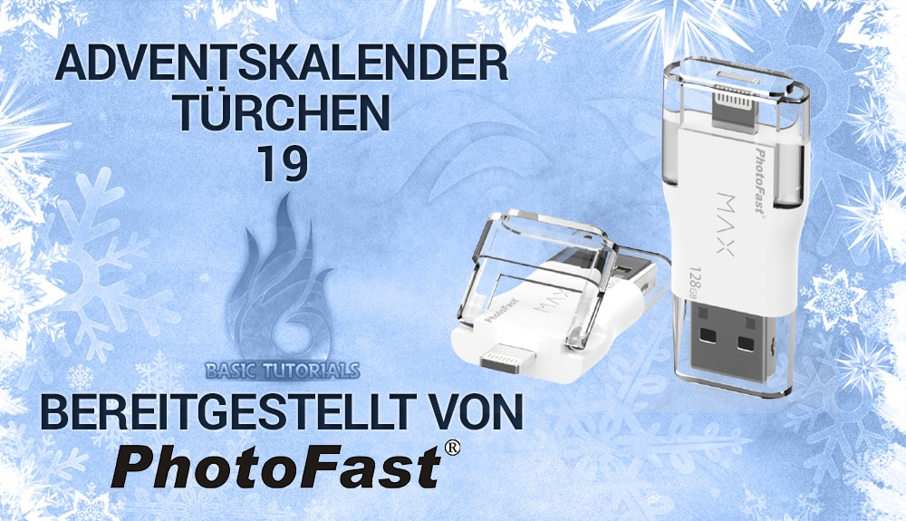Photo of Adventskalender Türchen 19: PhotoFast i-FlashDrive MAX 32 GB U3
