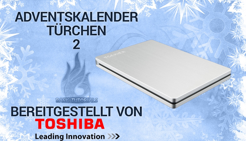Photo of Adventskalender Türchen 2: Toshiba Canvio Slim 500GB