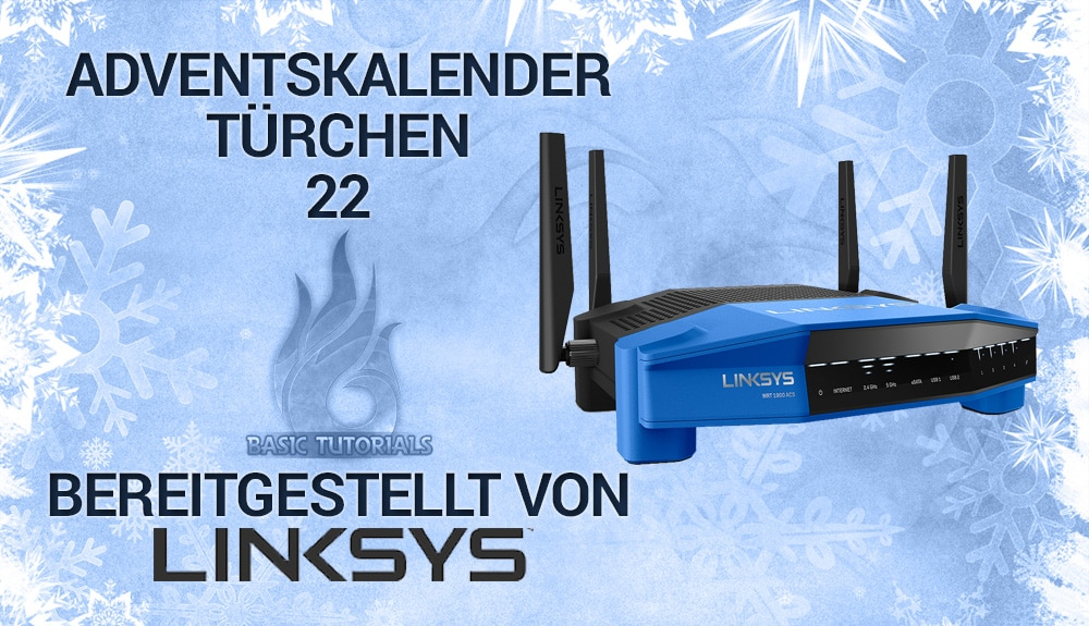 Photo of Adventskalender Türchen 22: Linksys WRT1900AC Router