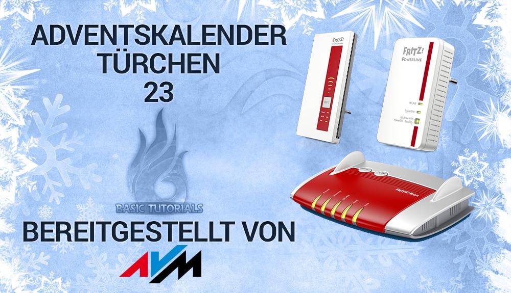 Avm Weihnachtskalender.Türchen 23 Netzwerken Mit Der Fritz Serie Von Avm
