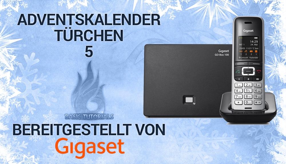 Photo of Adventskalender Türchen 5: Gigaset S850A GO