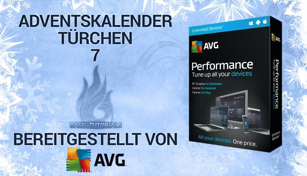 Photo of Adventskalender Türchen 7: 5x AVG Performance