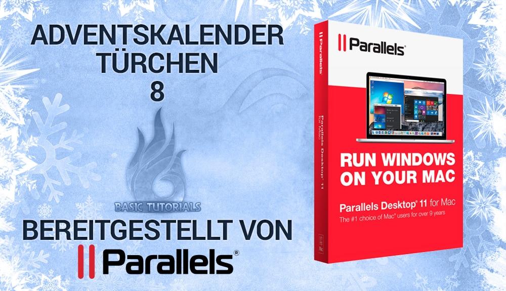 Bild von Adventskalender Türchen 8: 3x Parallels Desktop 11