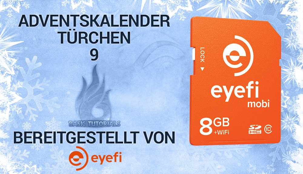 Photo of Adventskalender Türchen 9: 5x Eyefi 8GB SD-Karte Mobi