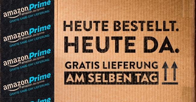 Photo of Amazon Same-Day: Lieferung am gleichen Tag!