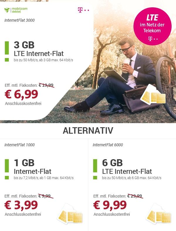 Photo of 3 GB LTE im Telekom-Netz für nur 6,99 Euro!