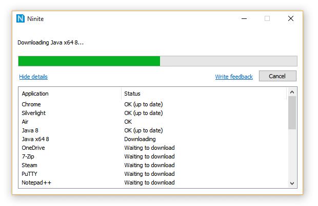 Ninite Installer