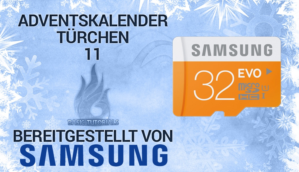 Photo of Adventskalender Türchen 11: 3x Samsung mSD-Karte EVO 32 GB