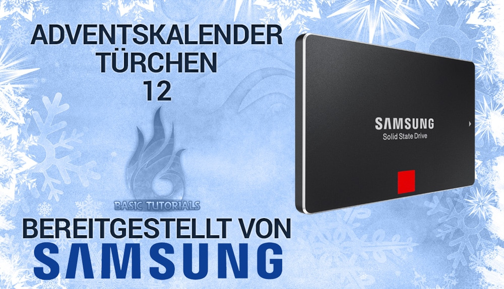 Bild von Adventskalender Türchen 12: Samsung 850 PRO 128 GB SSD