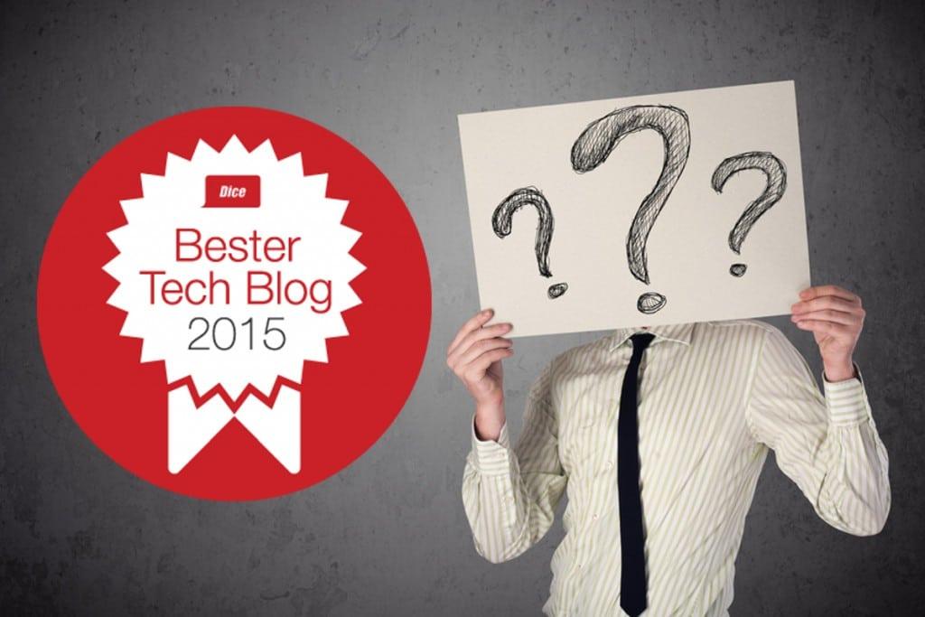 Bild von Gib uns deine Stimme zum besten IT Tech Blog des Jahres!