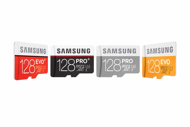 Bild von Samsung mit neuer 128 GB microSD PRO Plus Speicherkarte