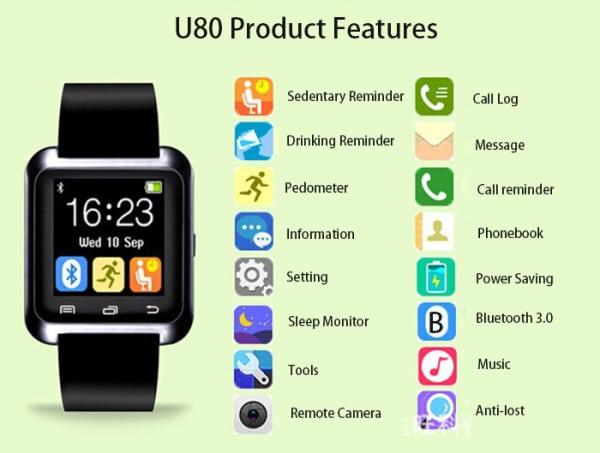 U80 Smartwatch 1