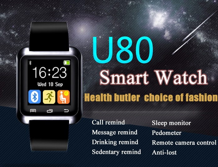 Photo of U80 Smartwatch für unter 10 Euro im Angebot bei Gearbest [Werbung]
