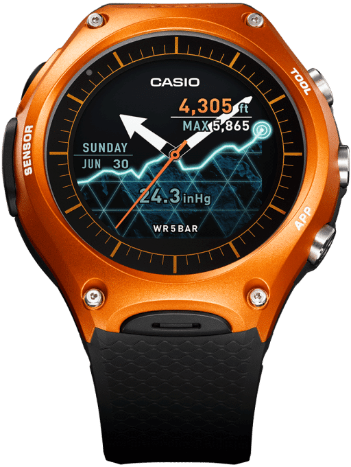 Photo of Casio WSD-F10: Casios erste Smartwatch