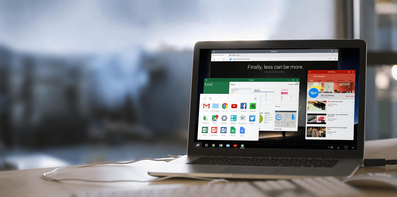 Bild von Remix OS 2.0: Android am Desktop-PC
