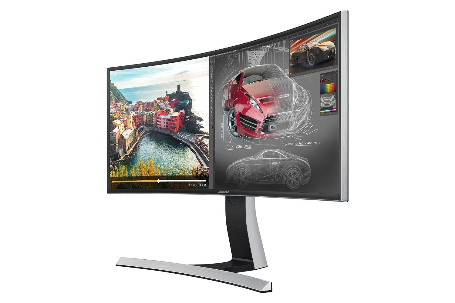 Photo of Samsung S34E790C Curved-LED-Monitor im Test