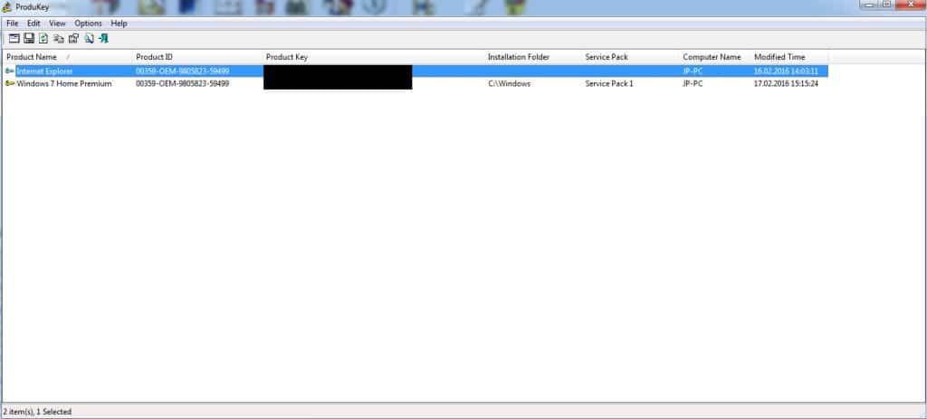 Product Key Windows