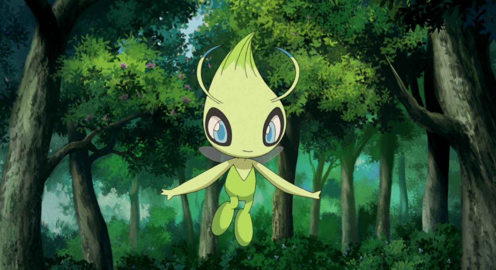 Bild von Schnappt euch Celebi für Pokémon Omega Rubin, Alpha Saphir, X & Y
