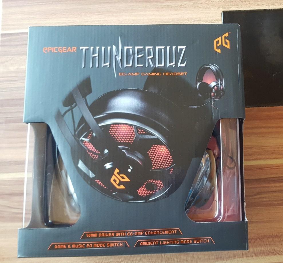 Bild von EpicGear ThunderouZ Gaming-Headset im Test